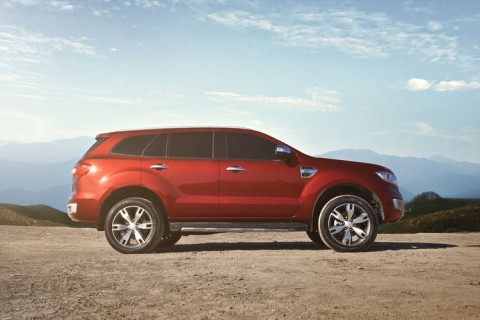 everest-sideFord's Smart New Everest Brings Refinement and Rugged Capability to the ASEAN SUV Market