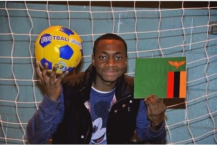 ex-Chelmsford City and Zambia footballer Loveday Mumbuluma