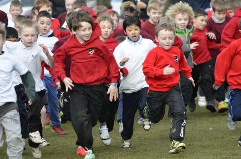 n annual event in the Team Durham calendar, Thursday 26th February saw organised chaos descend with the Zambia fun run