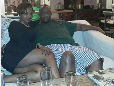 Another Photo of Mainga Mwaanga with one of the Girls he has been sleeping with