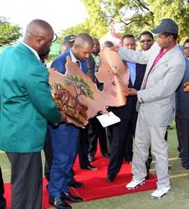 PHOTOS-H.E. LUNGU GRACES ZAMBIA GOLF TOURNAMENT BY MWANALEZA.