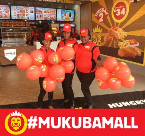 Hungry Lion #MukubaMall is ready to serve