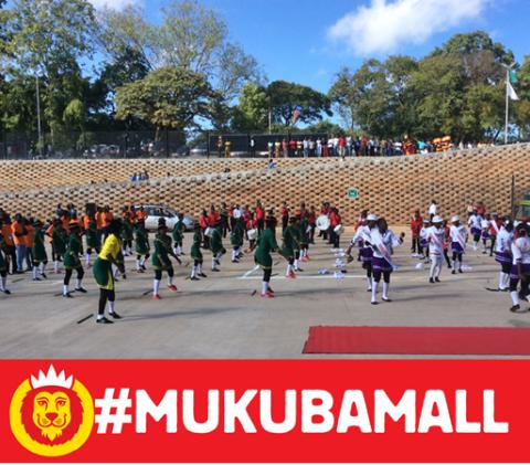 Hungry Lion #MukubaMall official opening festivities