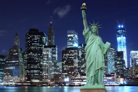 New York's iconic Statue of Liberty