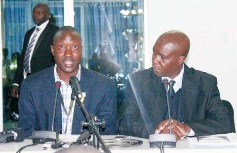 PF Disciplinary Committee Chairperson Tutwa Ngulube (on the left in the image )PF Disciplinary Committee Chairperson Tutwa Ngulube (on the left in the image )