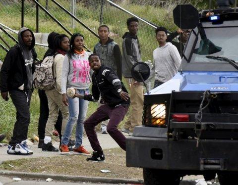 Baltmore riots - Shannon Stapleton:Reuters