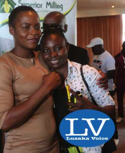 Boxers Esther and Catherine Phiri
