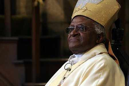 Desmond Tutu says he is inspired by the global activism of Gonzaga's students, faculty and alumni. Photo courtesy of Archbishop Tutu.