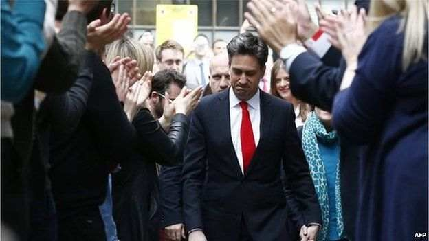 Ed Miliband said he accepted absolute and total responsibility for his party's defeat