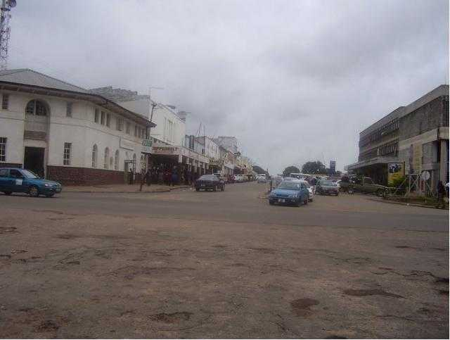 Roads in Chingola