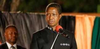His Excellency Mr. Edgar Chagwa Lungu, President of the Republic of Zambia