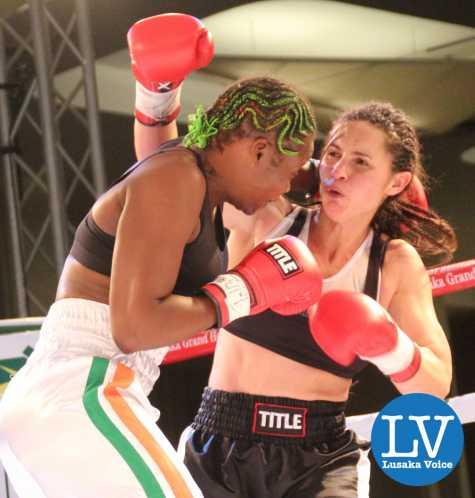Esther Phiri vs Sandra Almeida