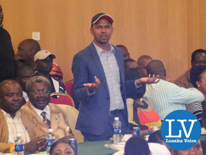 Minister Vincent Mwale reacting after the referee announced the results (technical draw)