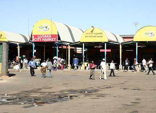 Lusaka City Market bus station