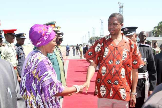 Vice-President Inonge Wina