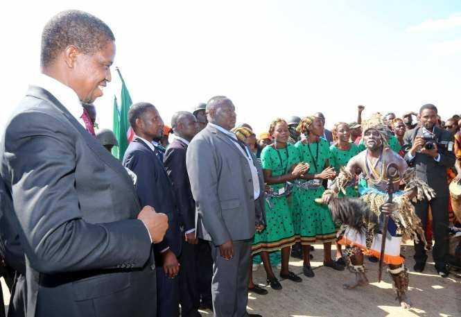 President Lungu, Koroma arrives in Livingstone for UN Summit