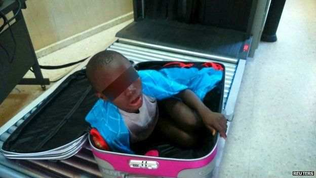 The boy had travelled from Ivory Coast and had planned to enter Spain