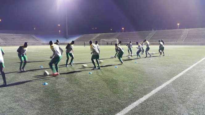 Chipolopolo CHAN squad arrived safely in Windhoek,Namibia