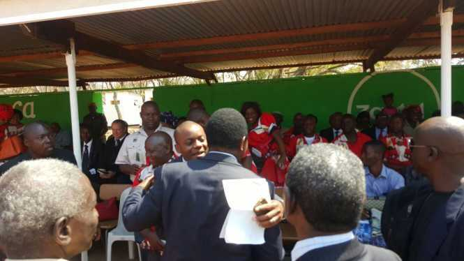 HH Meets other politicians at Kulamba Traditional Ceremony at Paramount Chief Kalonga Gawa Undi of the Chewa speaking people of Eastern Zambia, Malawi and Mozambique