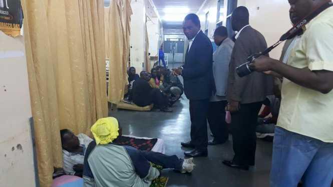 Hakainde Hichilema UTH