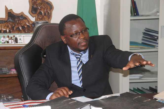 Kitwe District Commissioner Chanda Kabwe