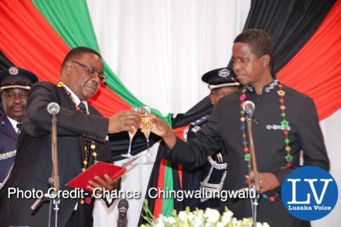President Mutharika, President Lungu