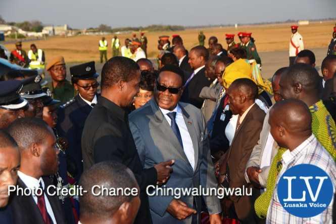 Presidents Mutharika, Lungu