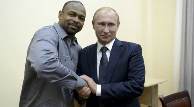 U.S. boxer Roy Jones, Jr