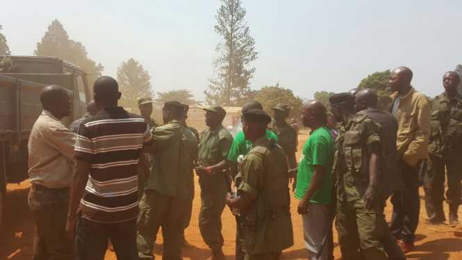 POLICE, UPND in Solwezi