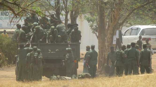 Police in Solwezi