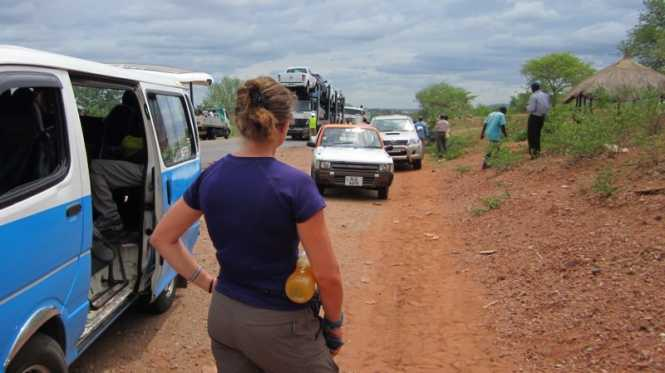 T.I.A. – This is Africa! - Adventures of Kevin and Robin - Police check-point roadblock