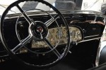The massive steering wheel. Photograph- Robert Klara