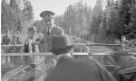 Adolf Hitler's car . The massive steering wheel. Photograph: SA-KUVA