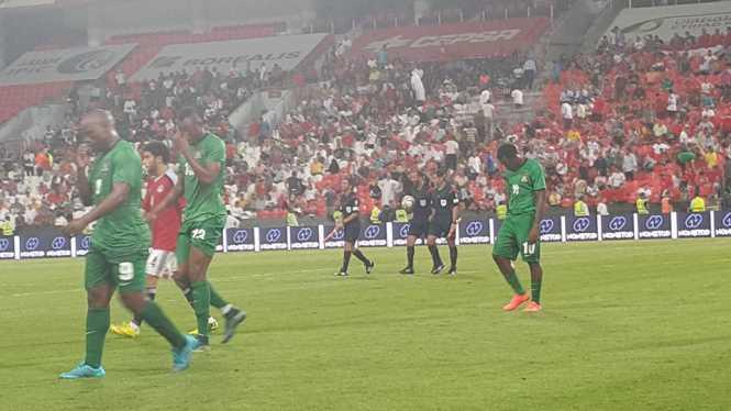 FT Zambia 0 : 3 Egypt