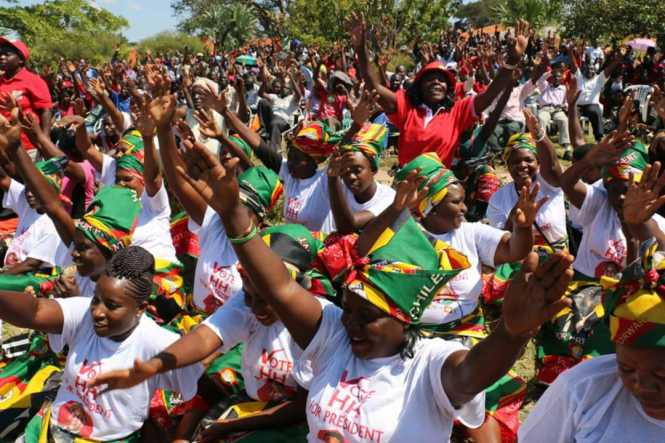 UPND supporters