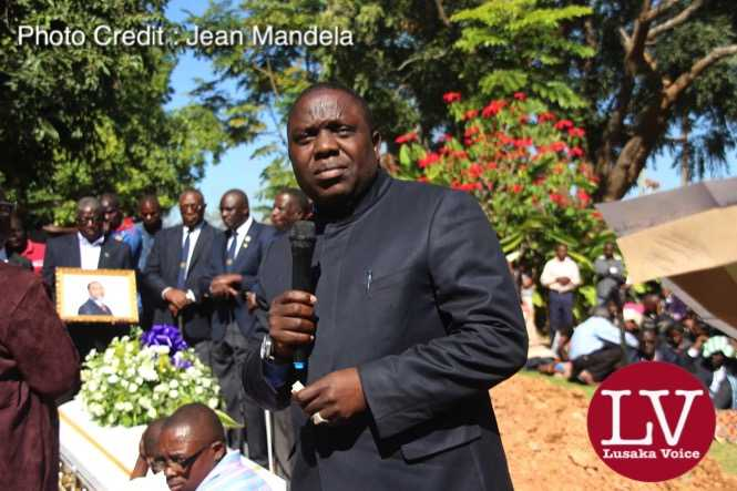 Zambia residents converged to SDA  UNZA branch and Lusaka Memorial Park in order to pay their last respects to their beloved son Dr Mwansa Pandela Chriticles  who  died in Sierra Leone
