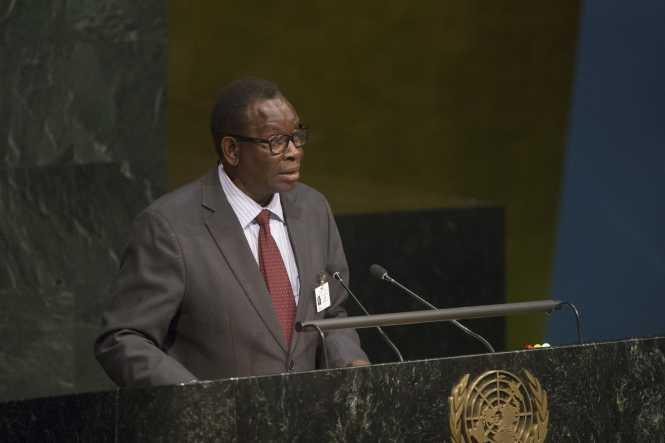 Dr. Joseph Kasonde, Minister of Health of Zambia