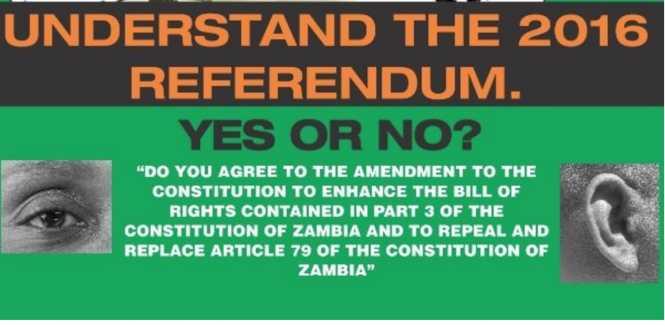 Eye, Ear symbols for referendum