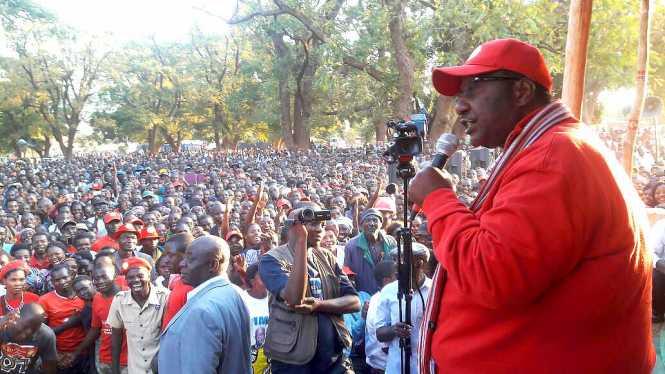 HH rally at Mpezeni Park - Chipaka, Eastern, Zambia.