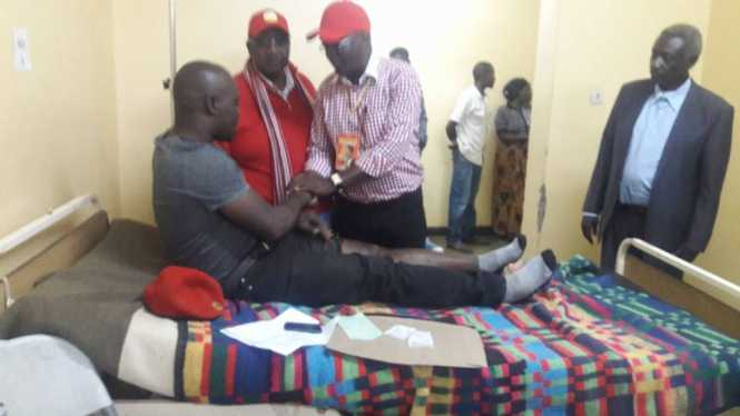 UPND members involved in an accident in Chipata.
