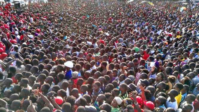 asama UPND rally happening now and live on Muvi TV