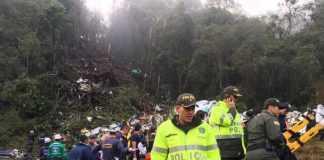 75 dead on Brazil soccer team's charter flight