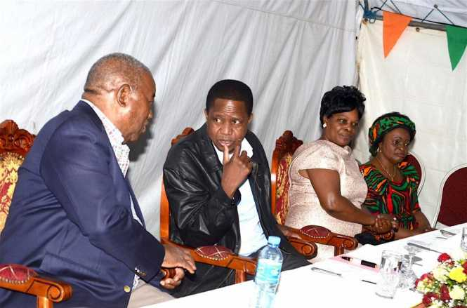 Former President Rupiah Banda, My Wife and Partner The First Lady, the Zambia's ambassador to Ethiopia Md Susan Sikaneta and I joined the diaspora community for dinner in Addis Ababa, Ethiopia.,