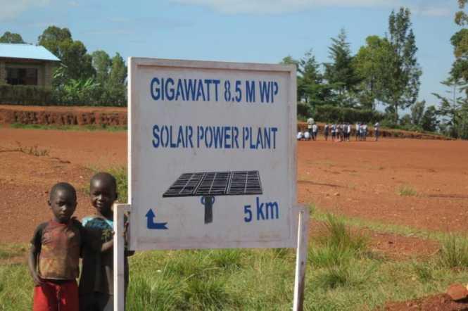 Gigawatt Solar Field in Burundi