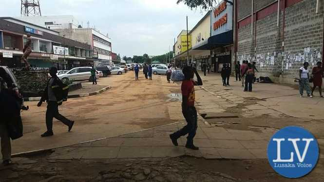 STREET VENDORS RELOCATION IN KITWE + Lusakavoice.com