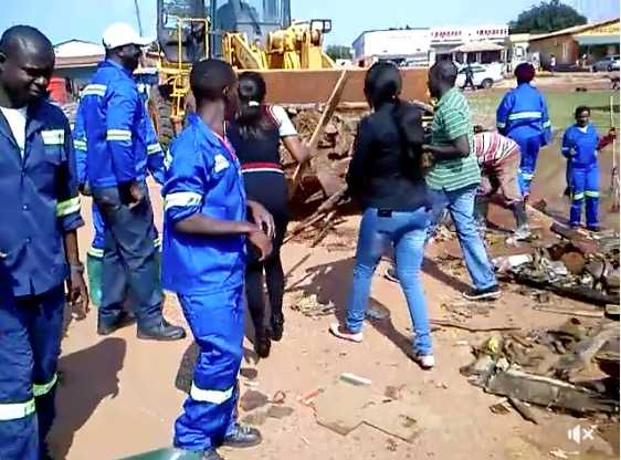 Defiant Kasama street vendors 'surrender'