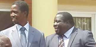 Edgar Lungu - Chishimba Kambwili