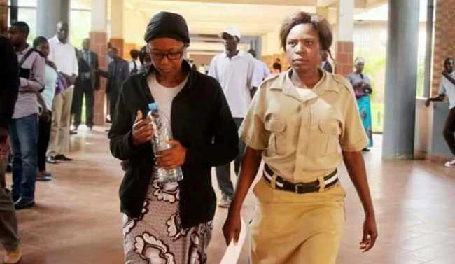 Mr. Njoya Tembo's wife Brenda