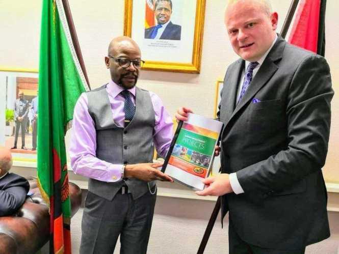 Mukwita gives German business investment plan