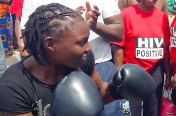 Catherine Phiri - Zambian boxer